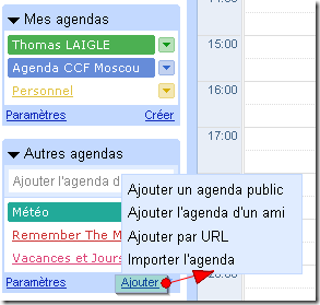 Tutoriel Google agenda 6
