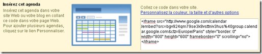 Tutoriel Google agenda 7