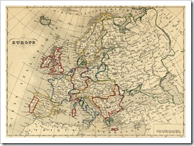 carte europe ancienne