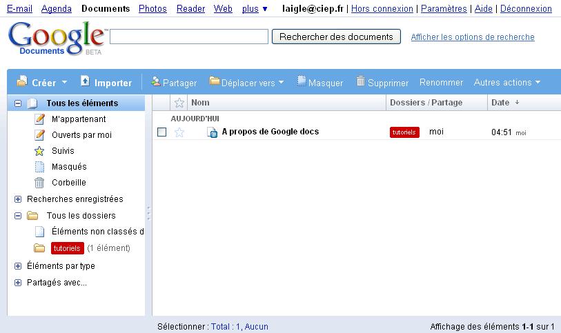 comment r u00e9diger un document  u00e0 plusieurs avec google docs