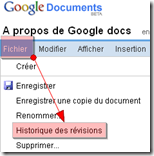 google docs modifications
