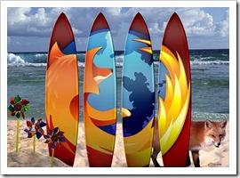 Planche de surf Firefox